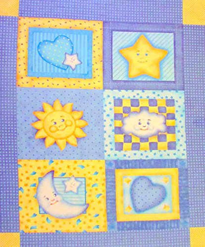 Moon Cotton Quilt Fabric - 9