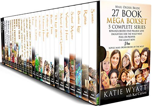 27 Book Mega Box Set 5 Complete Series (Mega Box Set Series 4) - Cardiff Series