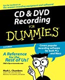 CD and DVD Recording for Dummies, Mark L. Chambers, 0764559567