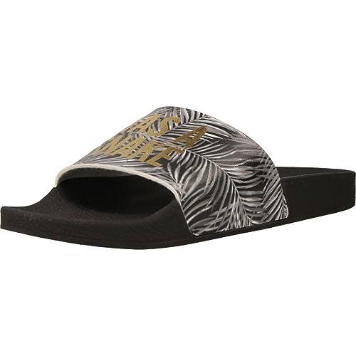 Sandalo THE WHITE BRAND SNAKE BLACK Color Nero