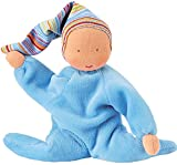 Kathe Kruse - Nickibaby Doll, Light Blue