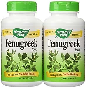 Fenugreek Seed 180 Capsules (Pack of 2)