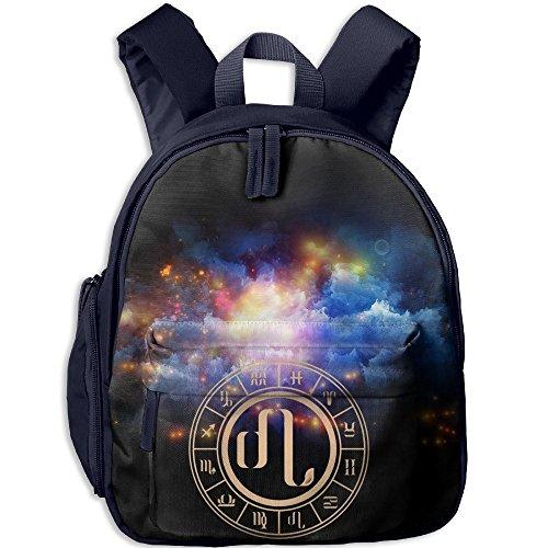 Leo Kids School Navy Travel Bag
