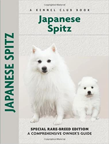 Japanese Spitz Comprehensive Owner S Guide Michael P Rule