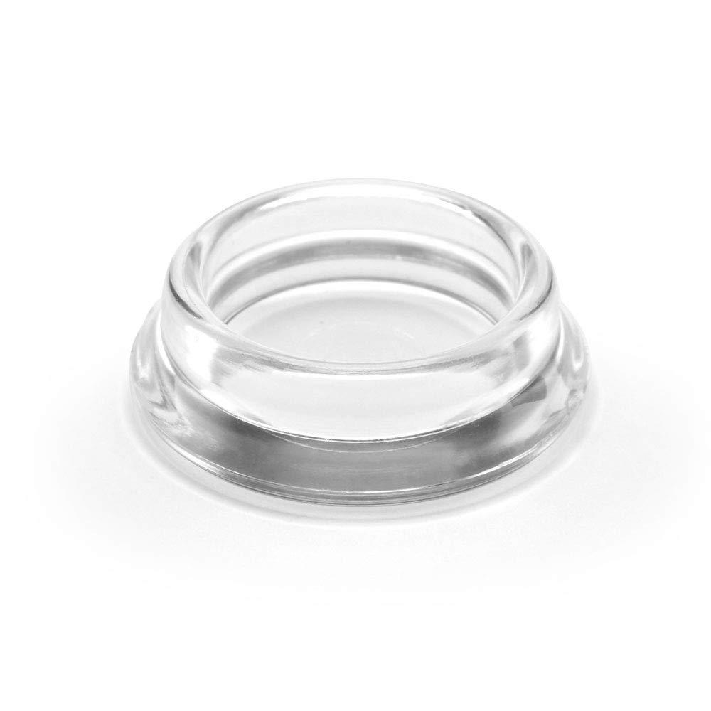 GLEITGUT M/öbeluntersetzer 30 mm Untersetzer rund 4 St/ück M/öbelschutz durchsichtig