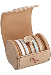 Fossil Women's ES3754 Georgia Three-Hand Leather Watch Set