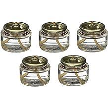 8 Hour Tea Light Fuel Cell Oil Candle Cartridge Disposable Liquid Paraffin (Set of 90)