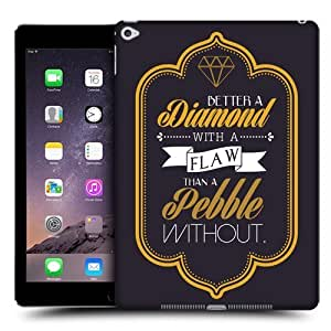 Head Case Designs Diamond Teachings of Confucius Protective Snap-on Hard Back Case Cover for Apple iPad Air 2