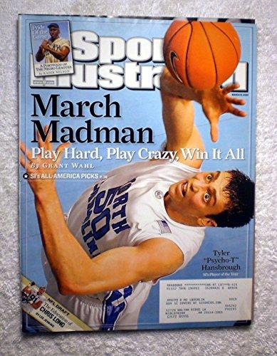 Tyler Hansbrough North Carolina (Tyler Hansbrough - March Madman - North Carolina Tar Heels - Sports Illustrated - March 10, 2008 - College Basketball - SI)
