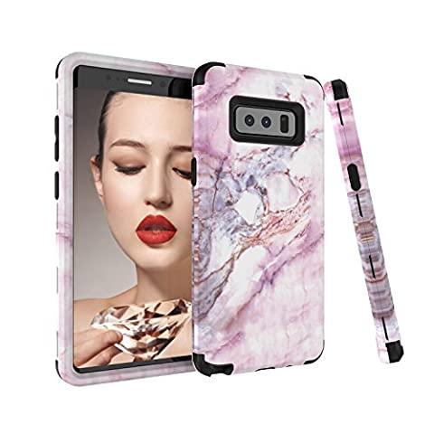Note 8 Case, Samsung Galaxy Note 8 Case, GPROVA Dual Layer Hybrid Armor High Impact Bumper Protection Phone Cover For Galaxy Note 8 (Galaxy Speck 5s Case)