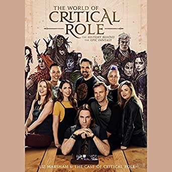 Amazon.com: The World of Critical Role: The History Behind