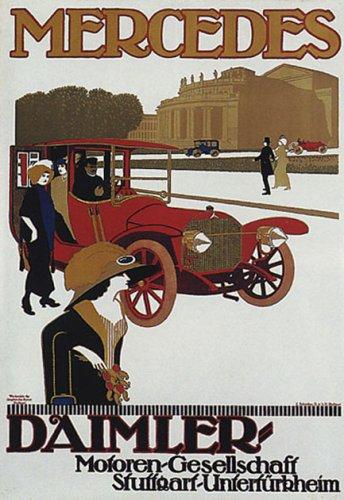 german-car-mercedes-daimler-automobile-vintage-poster-repro