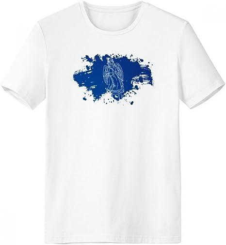 DIYthinker Modelo de Estrella de la constelación de la brocha Universo Escote de la Camiseta Blanca sin Etiquetas Comfort Deportes Camisetas de Regalos - Multi - XXXL: Amazon.es: Deportes y aire libre