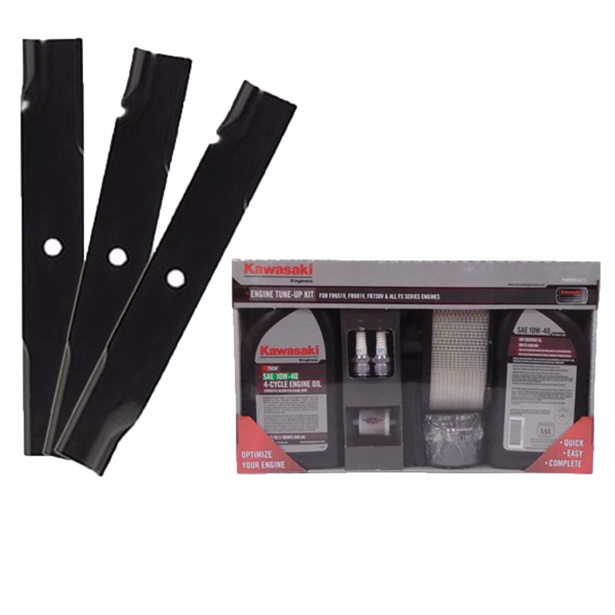 52'' Raptor and Raptor Limited Kawasaki Tune Up Kit with Blades