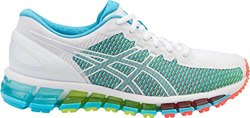 Asics Women's Gel-Quantum 360 cm Running Shoe, White/Snow...