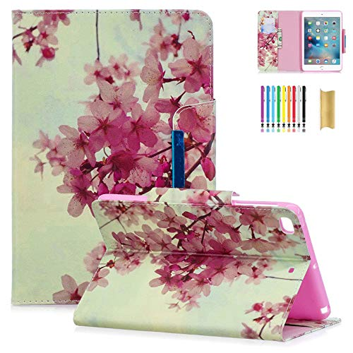 Dteck Case for iPad Mini 4/3/2/1 - Slim Fit Premium PU Leather Folio Flip Stand Magnetic Case with Auto Wake/Sleep Function Smart Wallet Cover for Apple iPad Mini 1 2 ()
