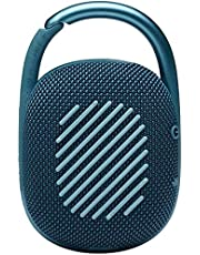 JBL JBLCLIP4BLUPK Clip 4 Portable Bluetooth Speaker, Blue/Pink