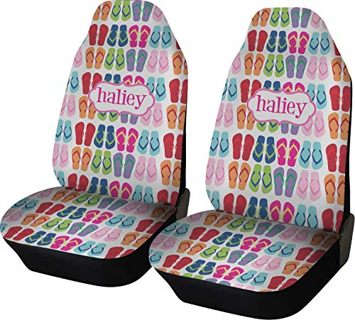 - RNK Shops Flipflop Car Seat Covers (Set of Two) (Personalized)