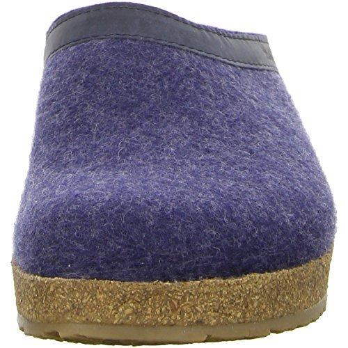 Haflinger 713001 Slippers, Filztoffel Grizzly Torben, Jeans, Gr 50 by Haflinger (Image #7)
