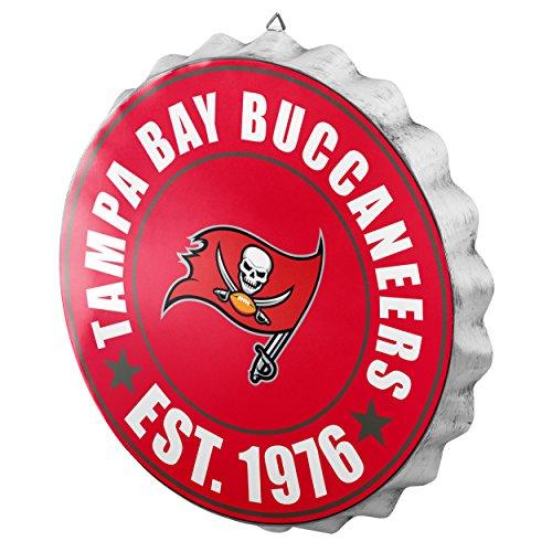 Tampa Bay Buccaneers Cap - FOCO Tampa Bay Buccaneers 2016 Bottle Cap Wall Sign
