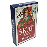 Skat Deck 32 Playing Cards Triplex Paper Blue Blu Modiano German Game