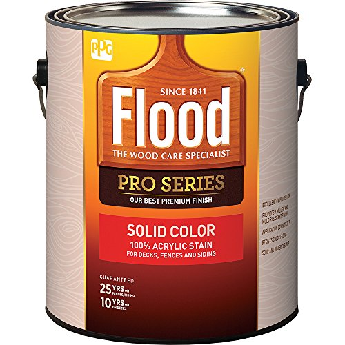 Flood Series FLD823-01 1G Solid Finish Cedar 100 ()