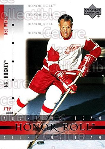 (CI) Gordie Howe Hockey Card 2001-02 UD Honor Roll (base) 3 Gordie ()