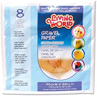Living World Gravel Paper, 15-3/4-Inches x 15-1/2-Inches, 8-Pack