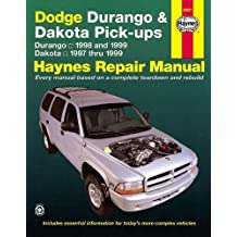 Dodge Durango '98'99 & Dakota '97'99 (Haynes Repair Manuals)