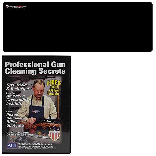 AGI DVD Gun Cleaning Course Secrets Beretta SO6 EL Over/Under Shotgun Taurus P92 92 PX4 Pistol Handgun + Ultimate Arms Gear Bench Mat