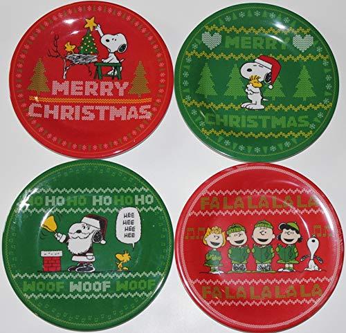 - Peanuts Christmas Melamine 7-3/4