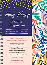 2021 Amy Knapp's Family Organizer: 17-Month Weekly Planner for Mom (Includes Stickers, Thru December 2