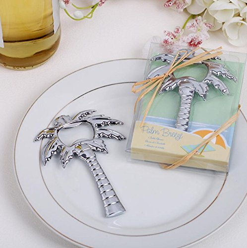 70pcs Palm Breeze Palm Tree Bottle Opener For Wedding Favor by cute rabbit