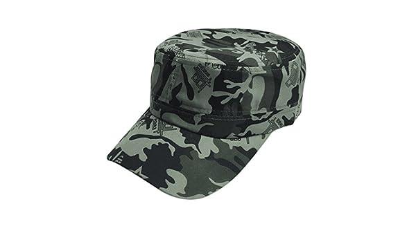 Yesmile Sombrero♢Hombres Mujeres Camuflaje al Aire Libre Escalada Gorra de Béisbol Hip Hop Dance Hat Gorra Verano Sport Hat (Talla única, ...