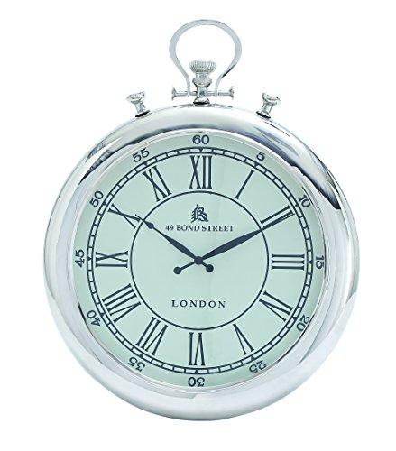 Benzara Wall Clock Simple Classic Design in Round Shape