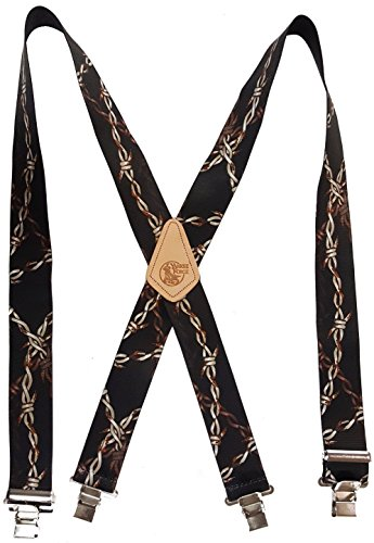 - BARBED WIRE - USA MADE CUSTOM SUSPENDERS - 2