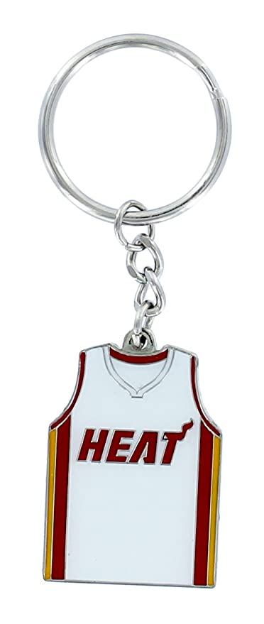 Amazon.com: NBA Miami Heat Home/Away Jersey Llavero: Sports ...