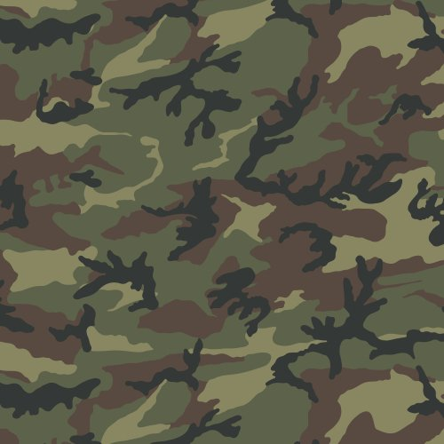Siser EasyPatterns Heat Transfer Vinyl HTV for T-Shirts 18 by 12 Inches (Camo Green) -