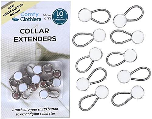 Buy dress shirt neck button extender - 5