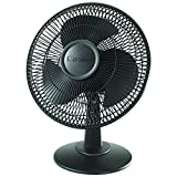 Lasko 2017 12'' Table Fan, black