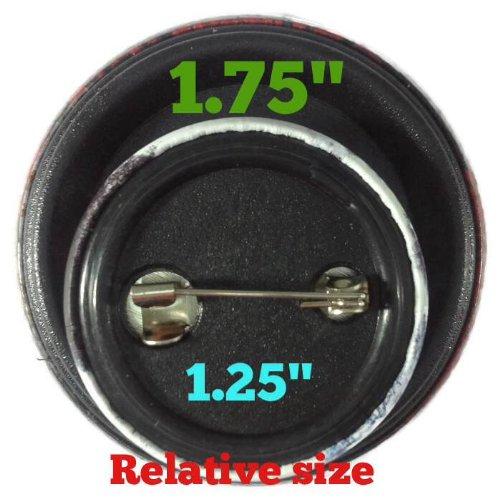The Bigger Vivider 1.75 Lot 12 Awesome Pin Button Badge OZZY OSBOURNE John #2