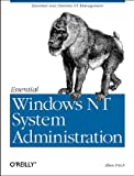 Essential Windows NT System Administration, Frisch, Æleen, 1565922743