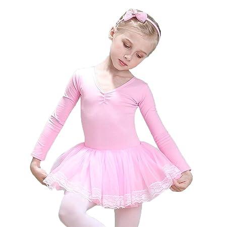 Vestido para el niño Niñas Moderno Baile Contemporáneo Leotardos ...