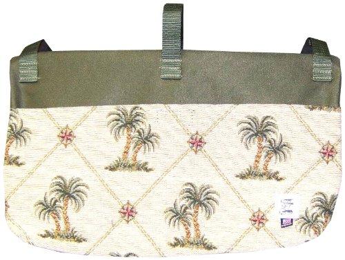 Handi Pockets 2c4ip Storage Accessory Walker, Tapestry, Island Palm