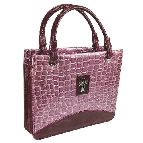 Croc Embossed Tote Bag - 6
