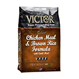 VICTOR Chicken Meal and Brown Rice Formula Dry Dog Food, 15 lb. Bag