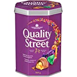 Nestle Quality Street Imported Caramels, Crèmes & Pralines, Christmas & Holiday Candy, 360 g