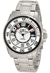 Invicta Men's 1831 Specialty Automatic Black and Grey Dial Stainless Steel Watch