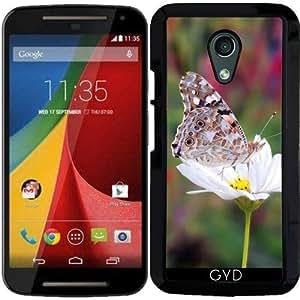 Funda para Motorola Moto G (Generation 2) - Insecto Mariposa by WonderfulDreamPicture