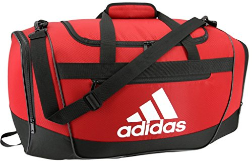 Defender III Duffel Bag Red adidas White Black d5wx6